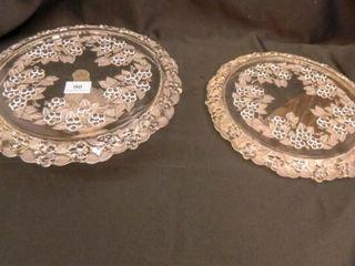Mikasa  Carmen  Cake Plates