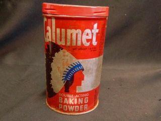 Calumet Baking Powder Can