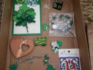 ST PATTY NECKlACES  BRACElET  EARRINGS AND