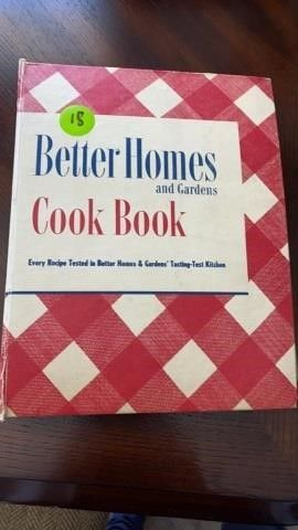 BETTER HOMES AND GARDEN 1951 COOK BOOK