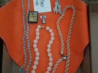 NECKlACES AND EARRINGS AND BROOCHES