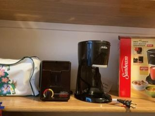 SUNBEAM TOASTER AND HOT WATER DISPENSER AND