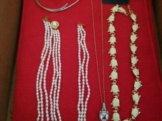 NECKlACE AND EARRINGS SETS  BEADED NECKlACE AND