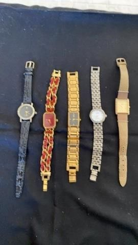 5 WOMENS WATCHES