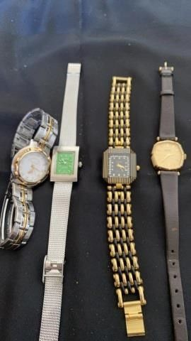4 VARIOUS WATCHES
