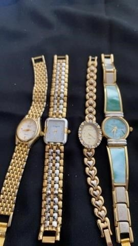 4 WOMENS WATCHES