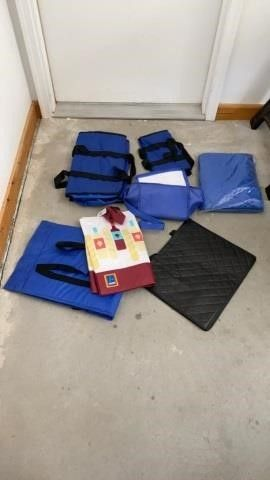 BAGS TO TAKE TO GROCERY STORE AND EMERGENCY