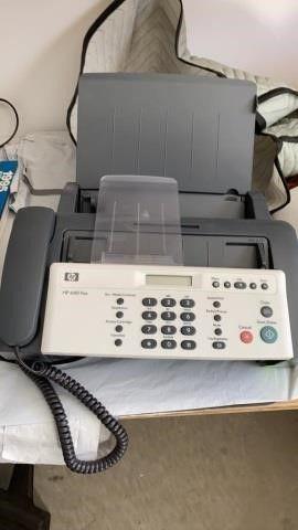 HEWITT PACKARD HP 640 FAX MACHINE