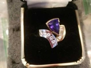 CUSTOM MADE GENUINE STONES SIlVER AND GOlD BAND