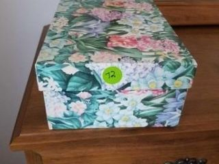 DECORATIVE BOX FIllED WITH OFFICE SUPPlIES