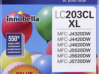 Brother   lC2033PKS Xl High Yield 3 Pack Ink Cartridges   Cyan Magenta Yellow   Cyan Magenta Yellow