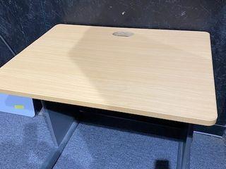 light Wood Grain Small Desk