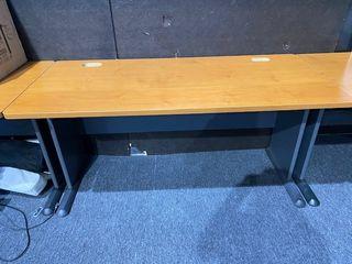 Medium Wood Grain large Desk
