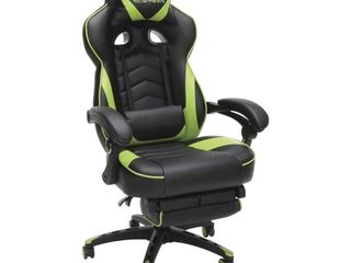 RESPAWN 110 Racing Style Gaming Chair  Reclining Ergonomic leather Chair w  Footrest
