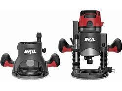 Skil 14 Amp Plunge and Fixed Base Router
