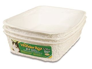 Kitty s WonderBox Disposable litter Box  Medium  3 Count