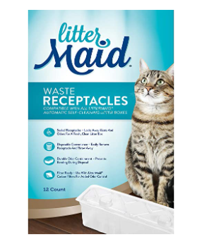 litter Maid Waste Receptacles  12
