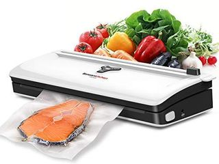 Food Saver Vacuum Sealer Machine For Food  Automatic Vaccume Sealer Machine Built in Air Sealing System with Vacuum Sealer Kits  Avoid Dehydration n Freezer Burn  Dry Moist Model For Sous Vide