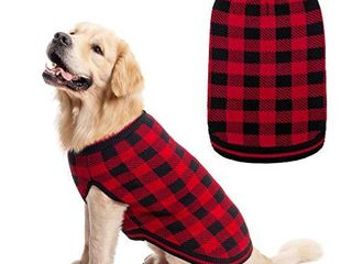 Plaid Dog Sweater Winter Clothes   Knitwear Soft Baseball Shirt Design for Small Medium large Dogs Cold Days Wearing