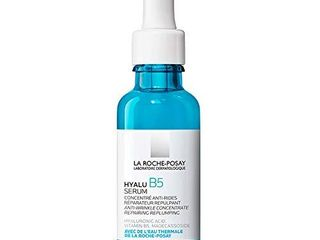 la Roche Posay Hyalu B5 Pure Hyaluronic Acid Serum for Face  with Vitamin B5  Anti Aging Serum Concentrate for Fine lines  Hydrating  Repairing  Replumping  Suitable for Sensitive Skin  1 Fl Oz
