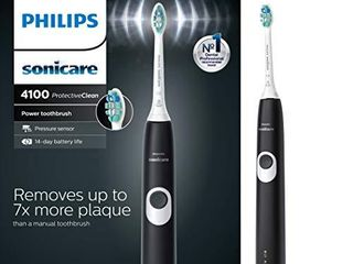 Philips Sonicare HX6810 50 ProtectiveClean 4100 Rechargeable Electric Toothbrush  Black