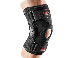 McDavid PSII Bi lateral Geared Polycentric Hinged Knee Brace Support  Improves Medial and lateral Stability  Reduces Injury and Assists in Recovery  Black  Small