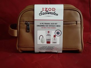 Izod Saltwater 4pc Travel Kit