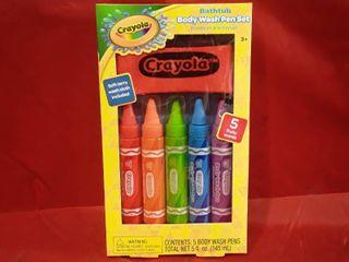 Crayola Bathtub Body Wash Pen Set