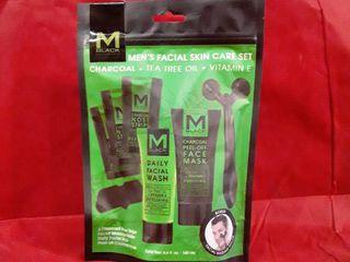 M Black Mens Faciam Skin Care Set