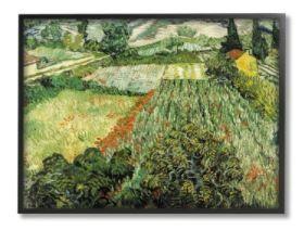 Stupell Industries Classic Van Gogh Field Painting Feld Mit Mohnblumen Framed Wall Art  Retail 81 48