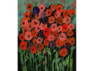 Tara Daavettila  All That Jazz Garden Iii  Canvas Art
