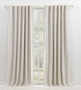 lauren Ralph lauren Sallie Blackout Back Tab Rod Pocket Curtain Panel Pair