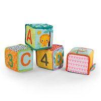 Bright Starts Grab   Stack Soft Blocks  Ages 3 months