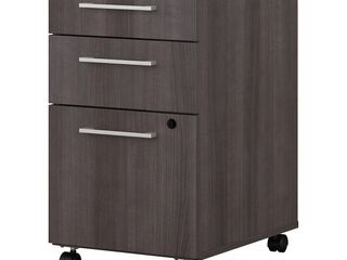 400 Series 3 Drawer Mobile File Cabinet by Bush Business Furniture  Retail 267 49