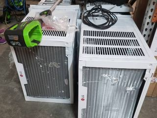 Pallet Of Miscellaneous Items  4 lG Window Air Conditioners  Weed Eater  Pressure Washer