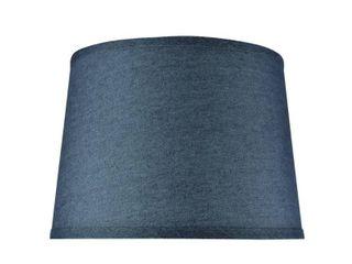 Aspen Creative Hardback Empire Shaped Spider Construction lamp Shade in Washing Blue