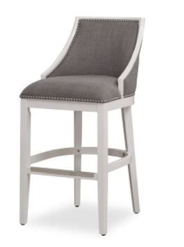 lawrence White Counter Height Stool by Greyson living  Retail 193 49