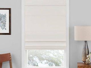 Cordless Roman Window Shade Ivory  30 x64    Achim