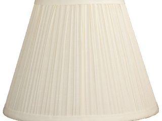 Softback Mushroom Pleated lamp Shade  5 inch Top  9 inch Bottom  7 inch Slant