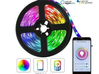 Wbm Smart light 5m Waterproof Flexible lED Strip Smartphone Wifi Control  Retail 71 49