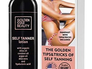 Self Tanner   Tanning lotion w  Organic   Natural Ingredients  Sunless Tanning lotion for Flawless light to Medium Tan  Self Tanning lotion   Self Tanners Best Sellers  Fake Tan