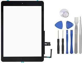 Touch Screen Digitizer for iPad 6th Generation iPad 2018 Front Glass Replacement with Home Button   Tool Repair Kit  A1893  A1954