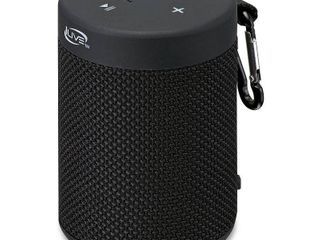 ilive Audio Waterproof  Shockproof Bluetooth Speaker with Speakerphone   Black  ISBW108B