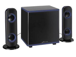 ilive IHB26 Bluetooth 2 1 Ch  Home Music System w lED lights
