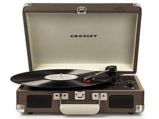 Crosley Radio Cruiser Deluxe Turntable  Size One Size   Brown