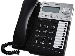 AT T Ml17929 2 line Corded Telephone  Black