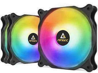 Antec 120mm Case Fan  RGB Case Fans  PC Fan  4 PIN RGB  F12 Series