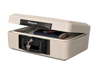 SentrySafe 1160 Fireproof lock Box  0 25 Cubic Feet  Dove Gray