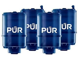 PUR MineralClear Faucet Water Filter Replacement for Filtration Systems  4 Pack  4 Count