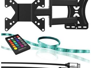 Color home TV Bundle Wallmount lED Strip HDMI Cable